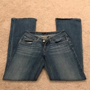 Levi's 528 Curvy Cut Flare Jeans E15
